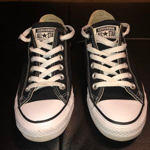 Converse All Star black & white shoes